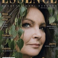 Essence Magazine cover 2009 Anna Dymna by Judyta Papp