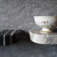 Półki kuchenne, granit Copacabana, proj. Judyta Papp 2020