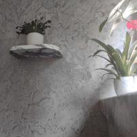 Półka z marmuru na kwiaty, Proj.: Judyta Papp 2021